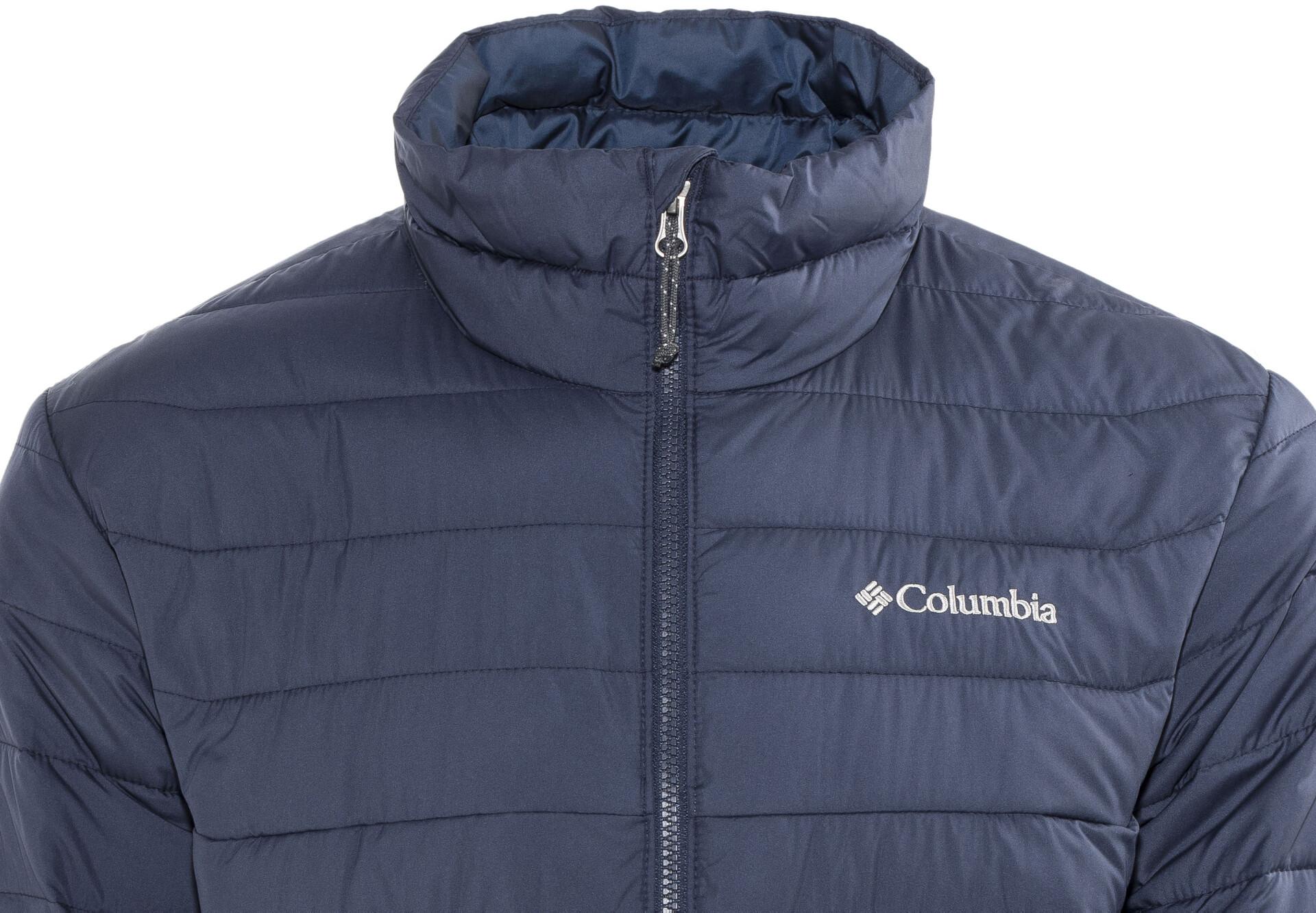 Homme Veste Lite Columbia Sur Powder Campz Bleu ulKJF13Tc